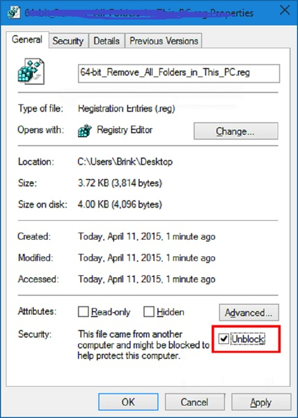 modify file for locked document